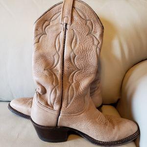 Genuine Elk skin men's cowboy boots, men's, shoes
